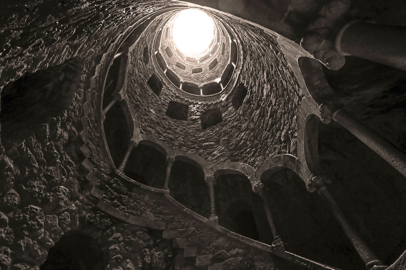 Initiation Well, Sintra, Portugal.