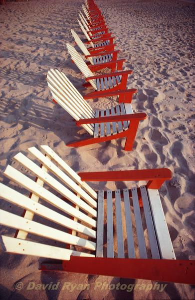 Beach Chairs in Mazatlan