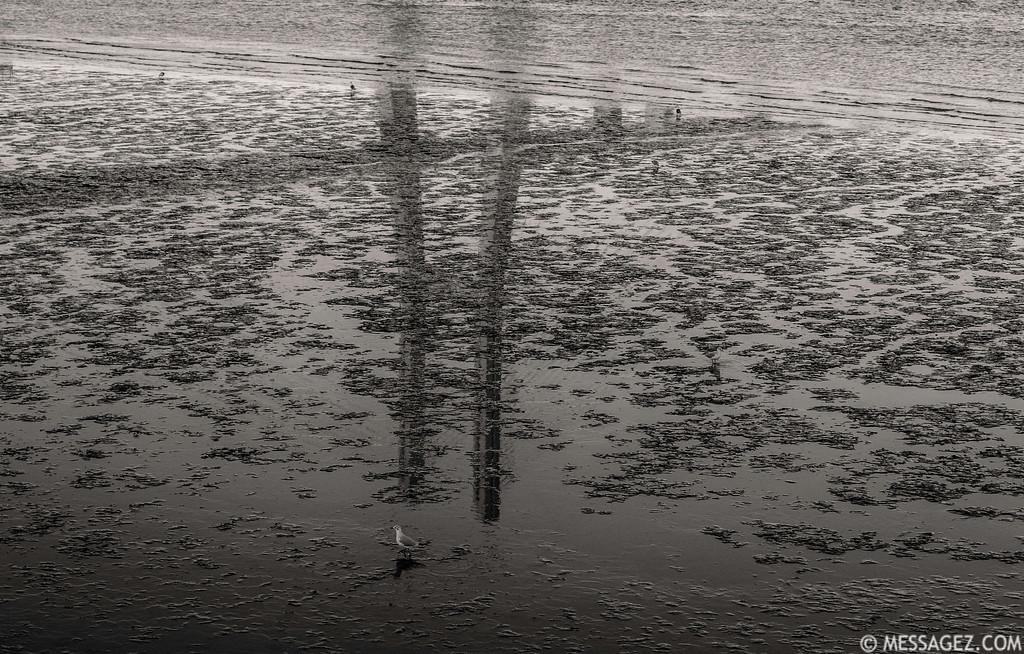 Lisbon Vasco da Game Bridge Reflection Photography Messagez com
