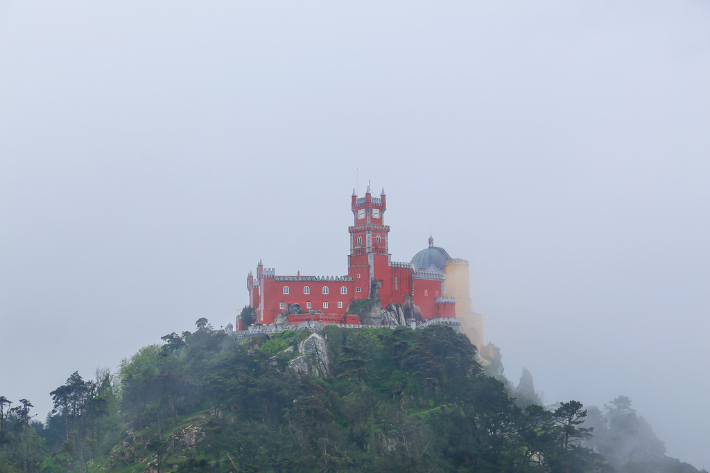 Pena Palace, Sintra, Portugal.