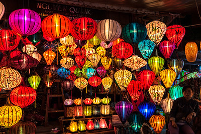 Silk Lanterns, Night Markets Hoi An