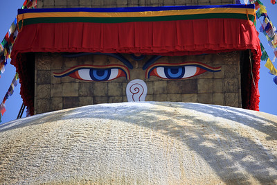 Buddha's eyes - Bodnath