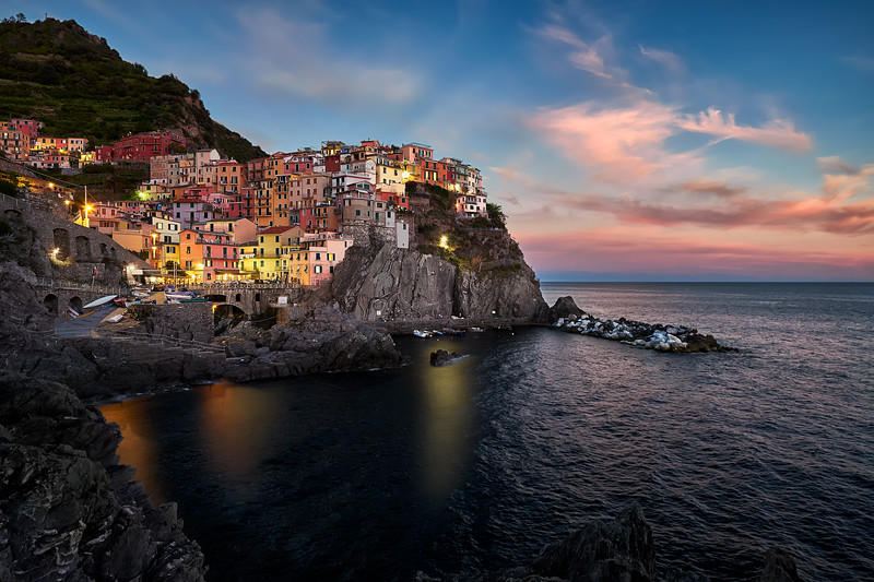 Manarola at Sunset