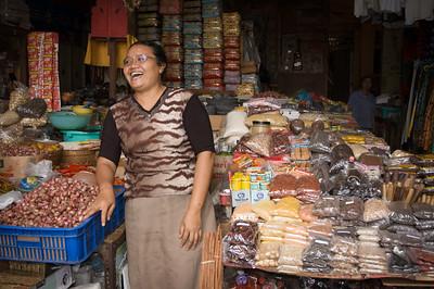 Shopkeeper, Ubud Market
