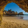 The Secret Algarve Cave Photography By Messagez com