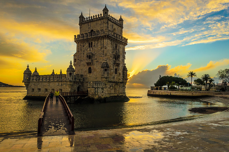 Best of Portugal Lisbon Tower Sunset Photography 25 By Messagez com