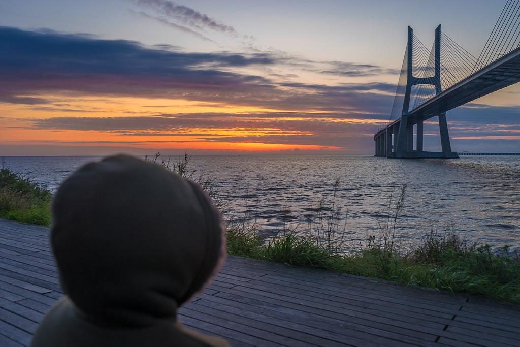 Lisbon Vasco da Gama Bridge at Sunrise Photography 5 By Messagez com