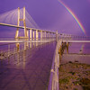 Magical Bridge Rainbow Photography 4 By Messagez com