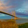 Original Lisbon Portugal Bridge Panorama Rainbow Art Photography 42 By Messagez com