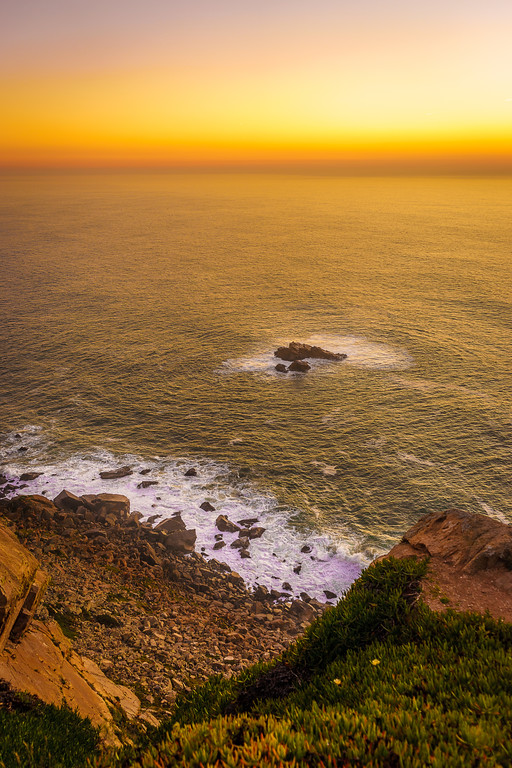 Portugal Atlantic Ocean Sunset Viewpoint Photography 8 By Messagez com