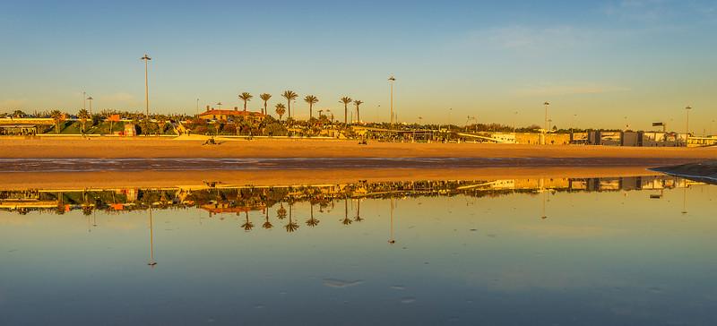 Original Lisbon Coast Reflection Photography 2 By Messagez com