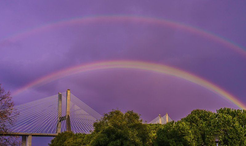 Magical Bridge Rainbow Photography 5 By Messagez com