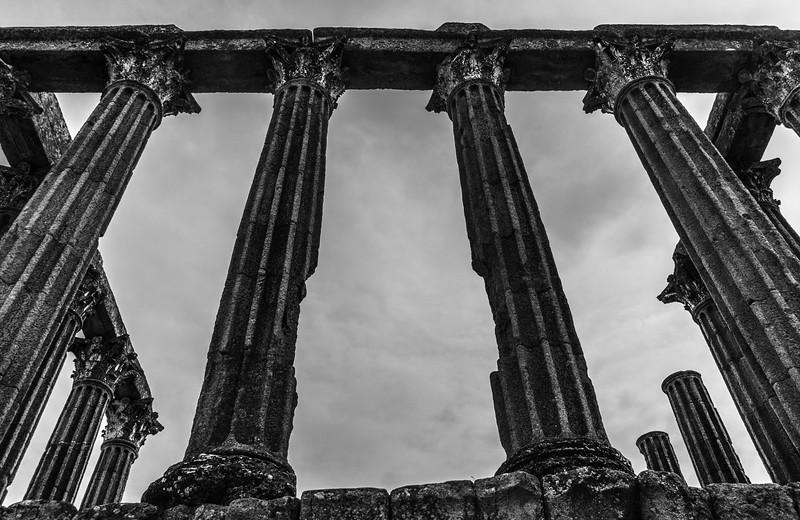 Portugal Evora Temple Photography 5 By Messagez com