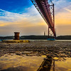 Under The Lisbon Bridge Reflection Fine Art Photography 3 By Messagez com