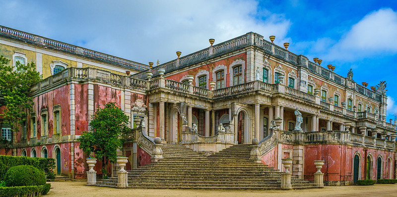 Queluz National Palace Art Photography 16 By Messagez com