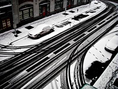 First Snow, Seattle, Washington