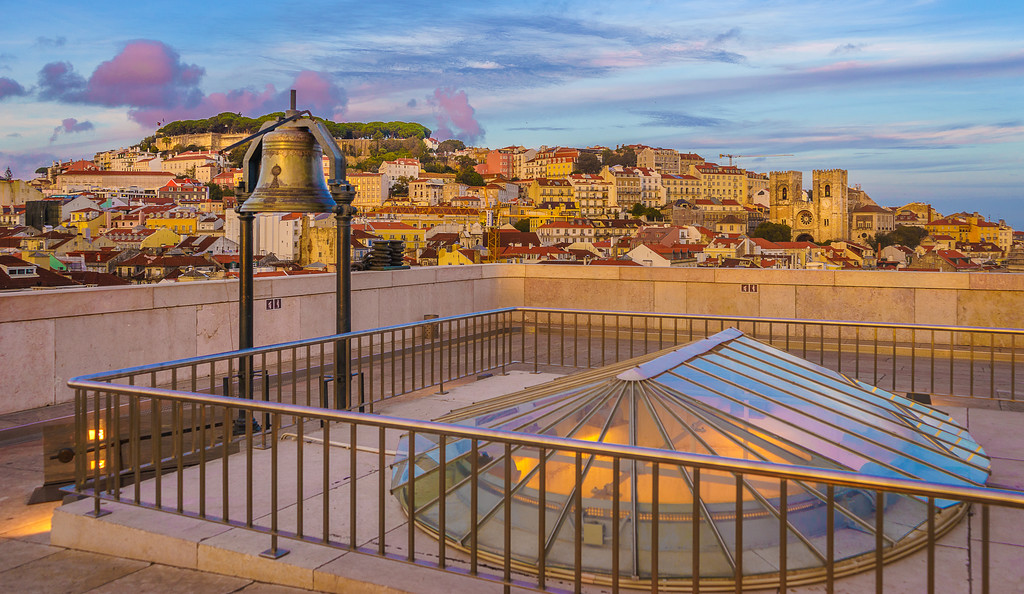 Lisbon Triumphal Arch Viewpoint Photography 8 By Messagez com