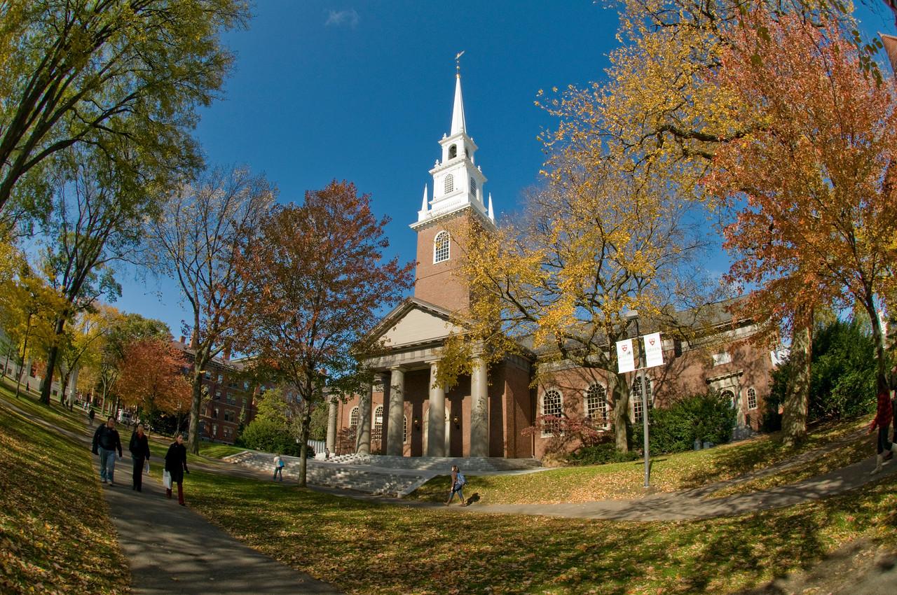 Memorial Church in Harvard University, Cambridge, Massachusetts, USA