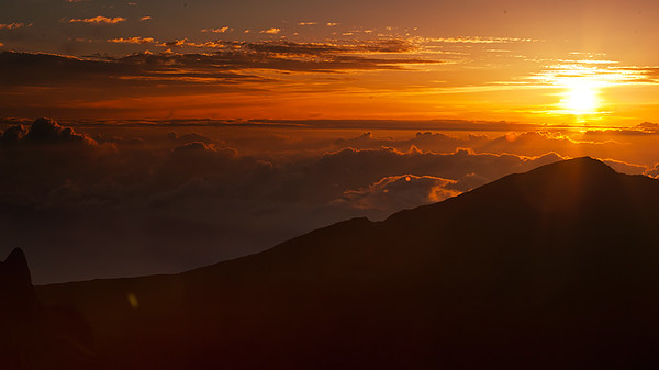 Sunrise at Haleakalā, Maui