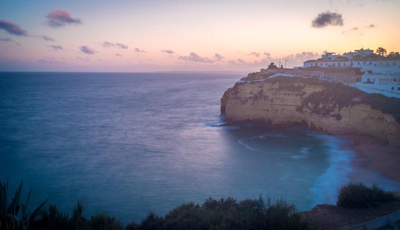 Algarve Carvoeiro Beach Photography 3 at Sunset Messagez com
