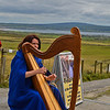 Harpist-The Cliffs of Moher, Ireland