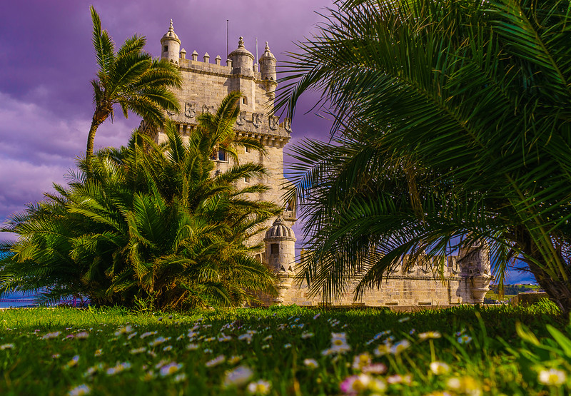 Lisbon Tower Fine Art Beauty Photography By Messagez com