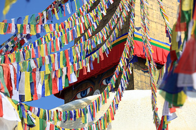 Prayer flags - Bodnath