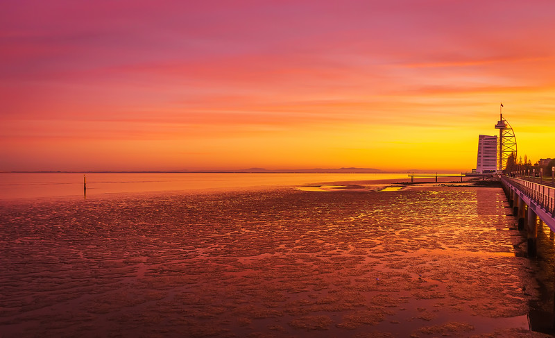 Amazing Lisbon Sunset Light Colors Photography 3 By Messagez com