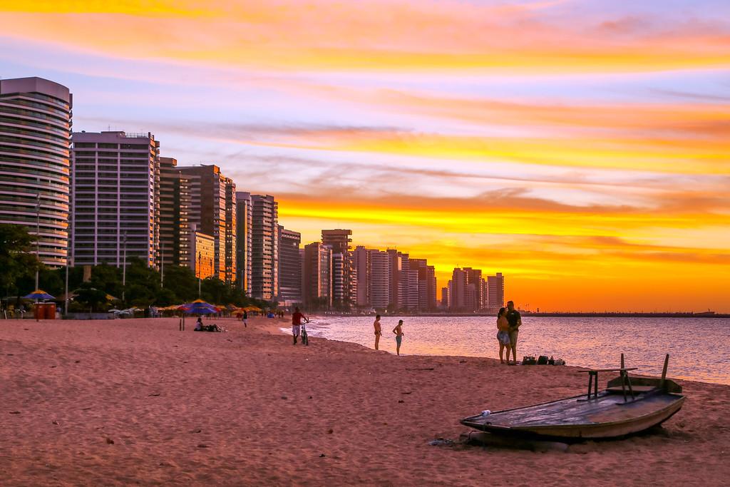 Beira-Mar, Fortaleza, Ceará, Brazil.
