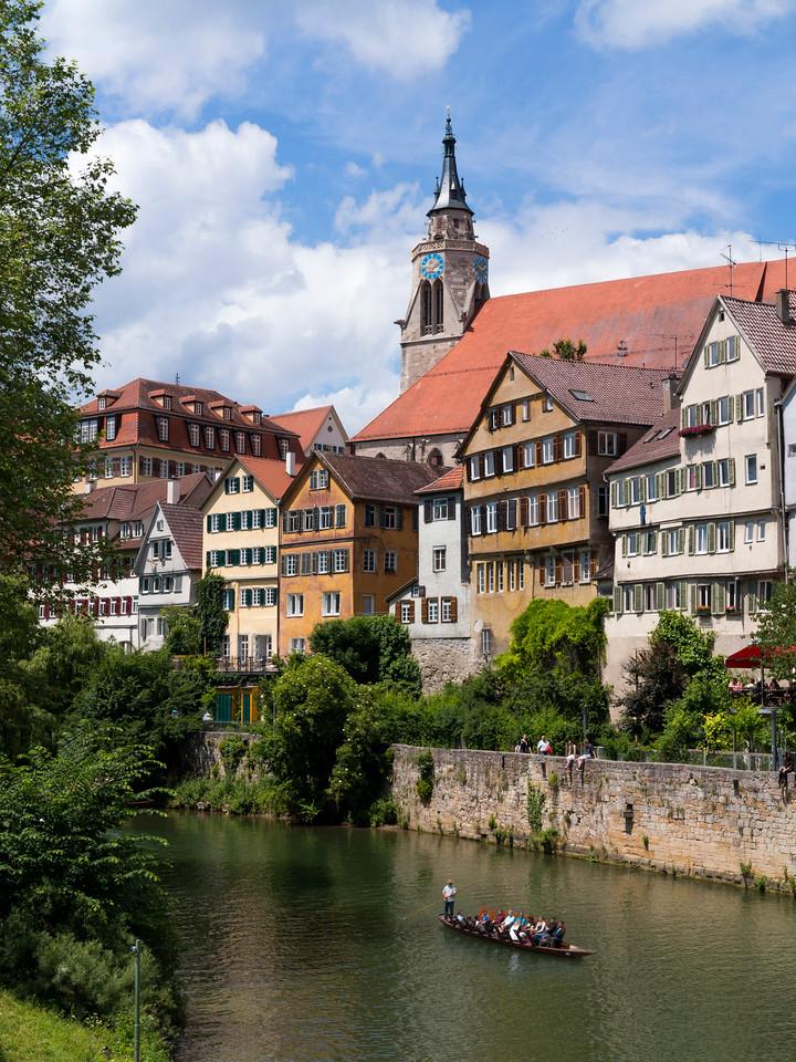 In Tübingen, a traditional university town in central Baden-Württemberg, Germany.