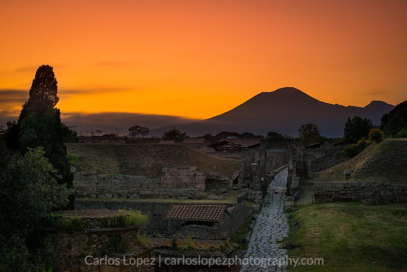 Pompeii Sunrise