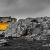 Original Magic Sintra Peninha Megalithic Top BW Photography By Messagez