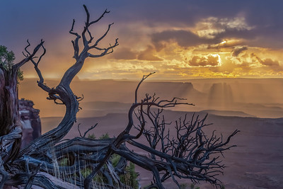 Orange Cliffs Sunset