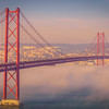 Original Lisbon 25th of April Bridge Landscape Photography 17 By Messagez com