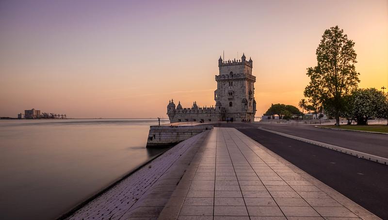 Belem Tower Silky Lisbon Landscape Photography By Messagez com