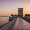 Belem Tower Silky Lisbon Landscape Photography By Messagez com