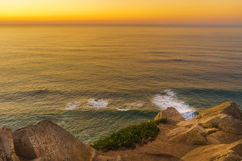 Portugal Atlantic Ocean Sunset Viewpoint Photography 4 By Messagez com