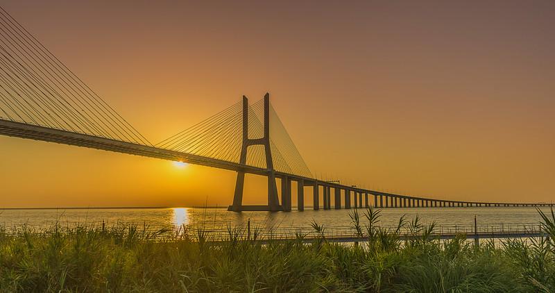 Best of Lisbon Bridge Sunrise Photography 4 By Messagez com