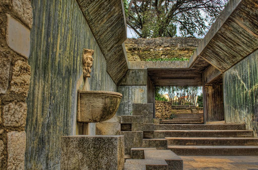 Inside The Castle Of Sao Jorge