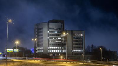 Fokus Bank bygget på Rosten