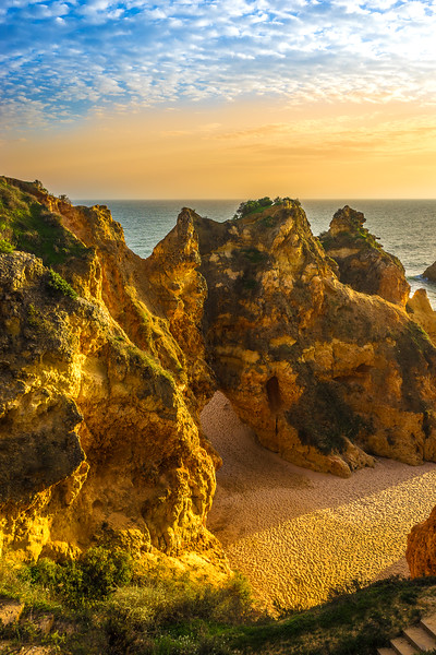 Original Algarve Beach Portal Photography By Messagez com