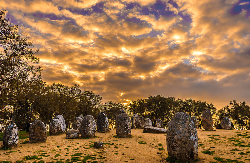 Portugal Cromlech of the Almendres Megalithic Magic Photography 42 By Messagez com