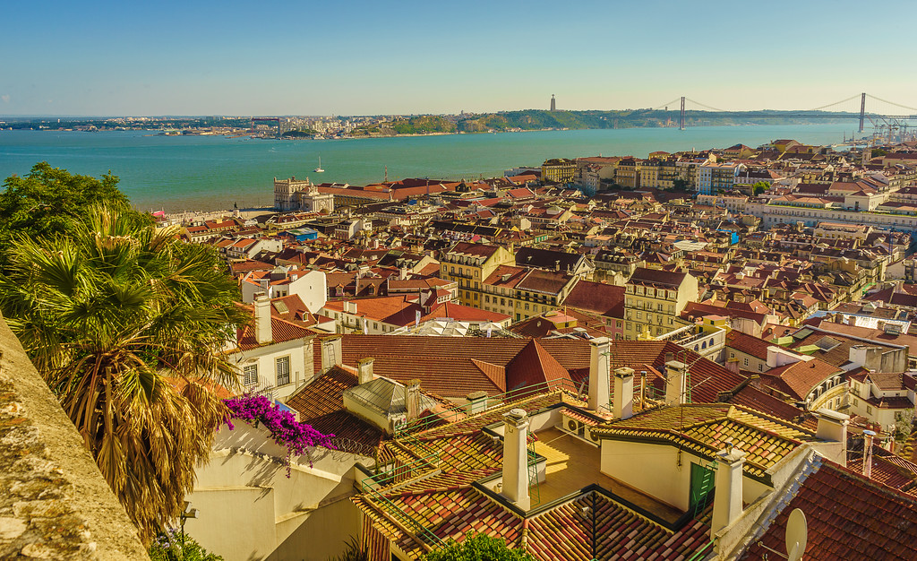 Original Portugal Lisbon Castle Photography 5 By Messagez com