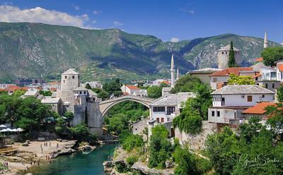The famous Mostar Bridge