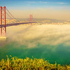 Original Lisbon 25th of April Bridge Landscape Photography 7 By Messagez com