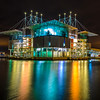 Lisbon Oceanarium at Night Photography By Messagez.com