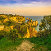Algarve Golden Cliffs Pathway Photography By Messagez com