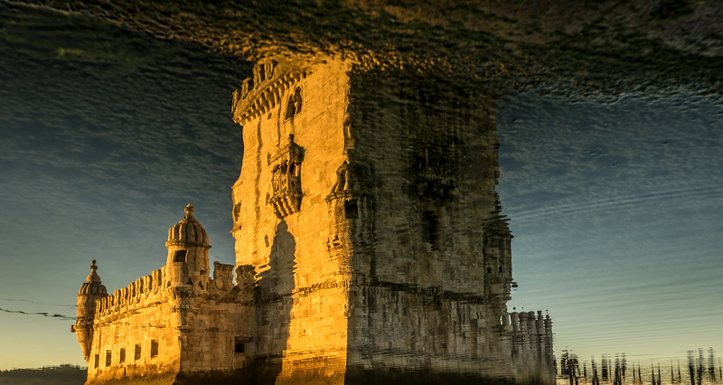 Another Perspective of the Lisbon Belem Tower Photography 2 By Messagez com