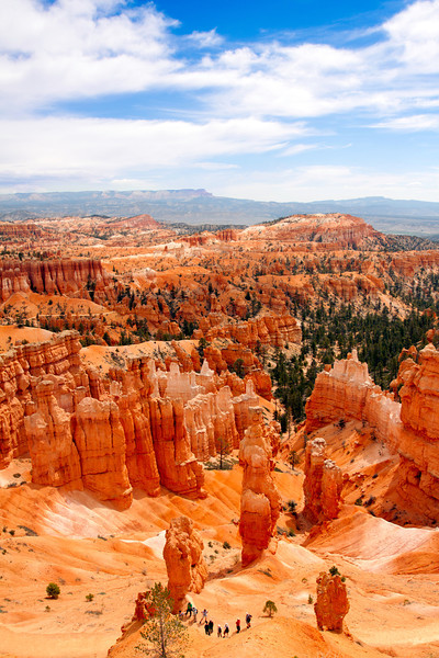 Sunset Point at Bryce Canyon National Park - 2013