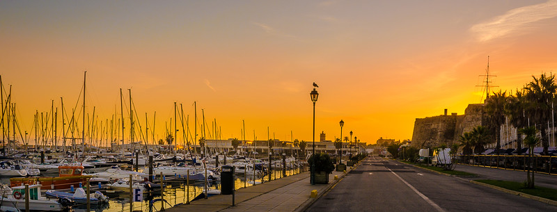 Original Portugal Cascais Marina Sunset Photography 3 By Messagez com